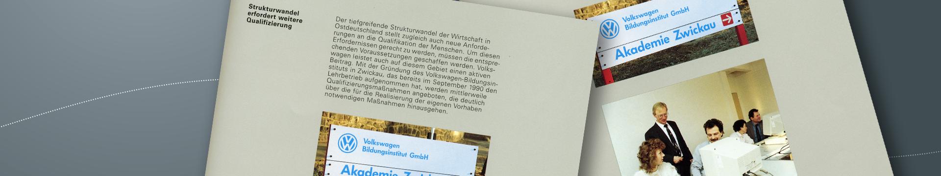 Volkswagen Bildungsinstitut GmbH: Chronik